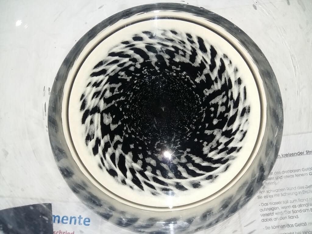 Kunstplanbau: Wasserexperiment