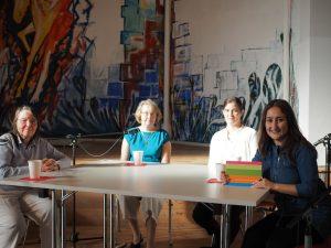 Diskussionsrunde mit Petra-Beate Schildbach, Annette Langner, Carolin Fraude und Özlem Ögütcü (Moderation)