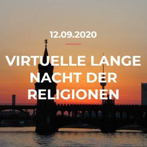 Experiment geglückt: Lange Nacht der Religionen 2020