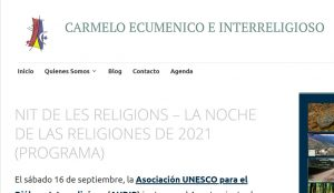 Read more about the article NIT DE LES RELIGIONS – LA NOCHE DE LAS RELIGIONES DE 2021