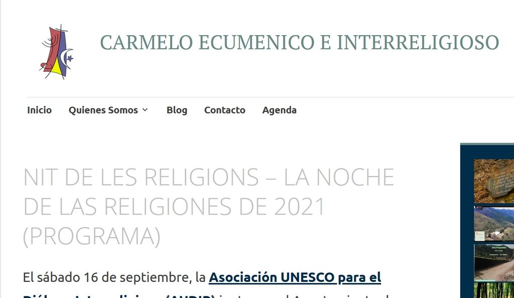 You are currently viewing NIT DE LES RELIGIONS – LA NOCHE DE LAS RELIGIONES DE 2021